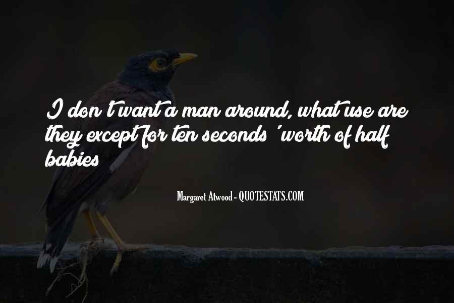 Worth Man Quotes #59768