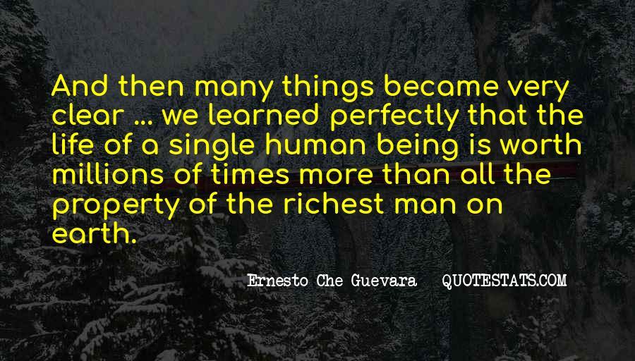 Worth Man Quotes #65717