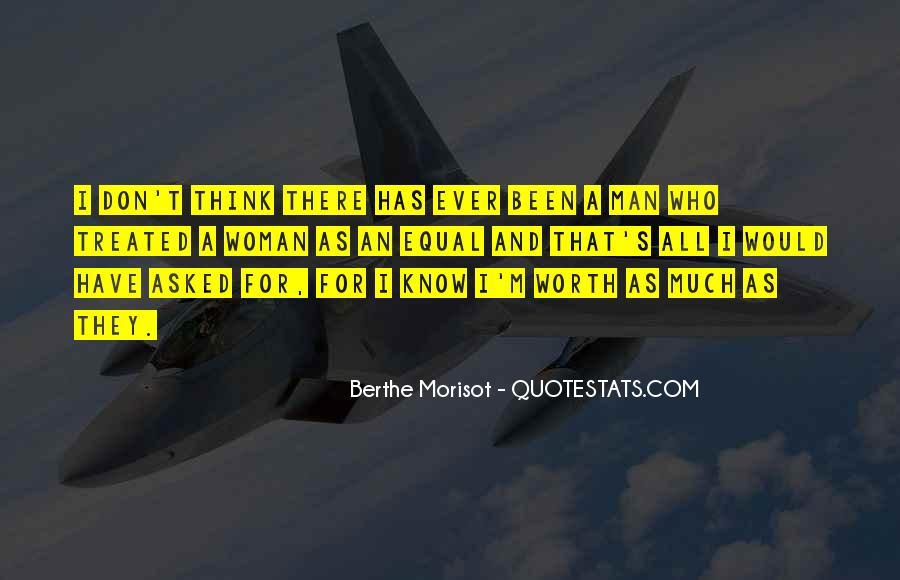 Worth Man Quotes #85389