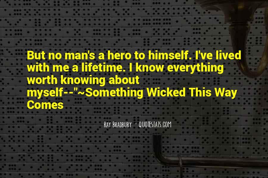 Worth Man Quotes #87635