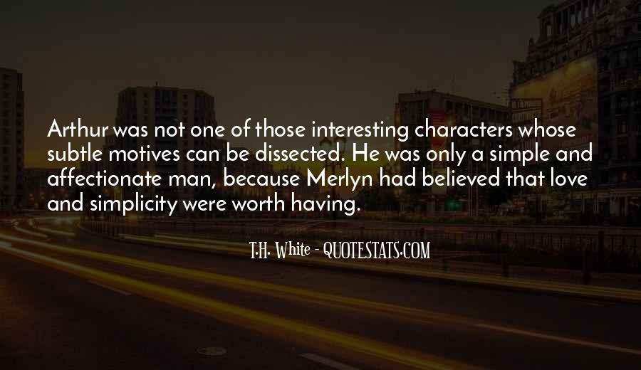 Worth Man Quotes #8814