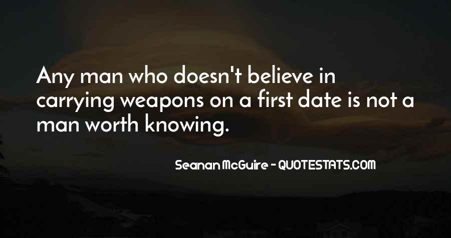 Worth Man Quotes #88700