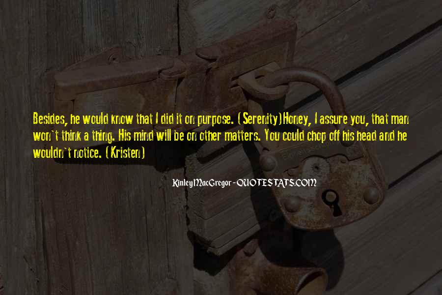 Would You Notice Quotes #1208038