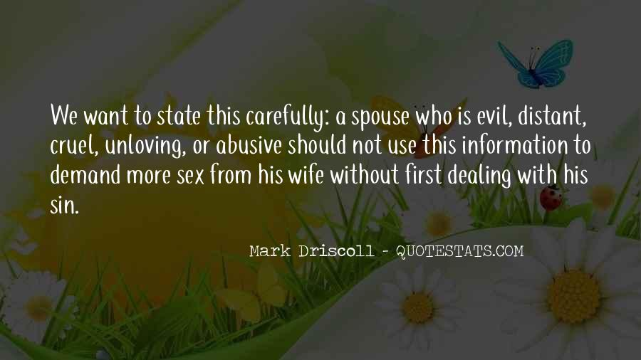 Quotes About Unloving Someone #1418395