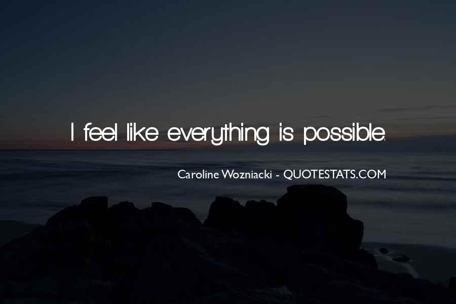 Wozniacki Quotes #1230335
