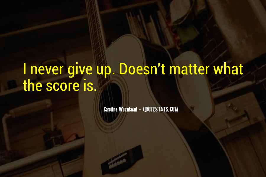 Wozniacki Quotes #1254302