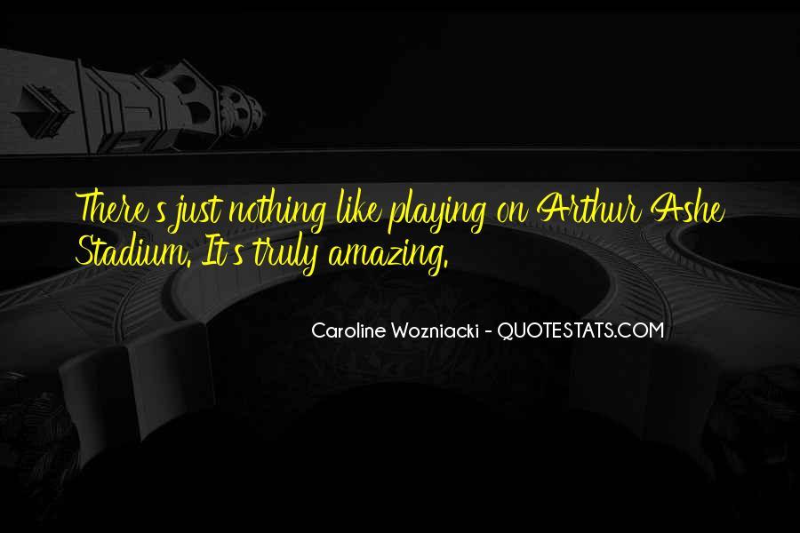 Wozniacki Quotes #1714142