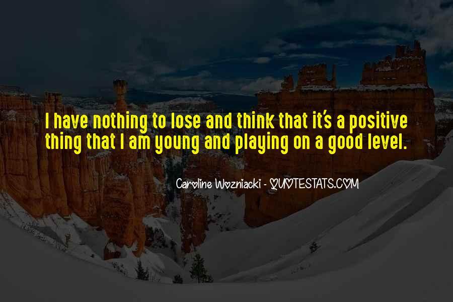 Wozniacki Quotes #255048
