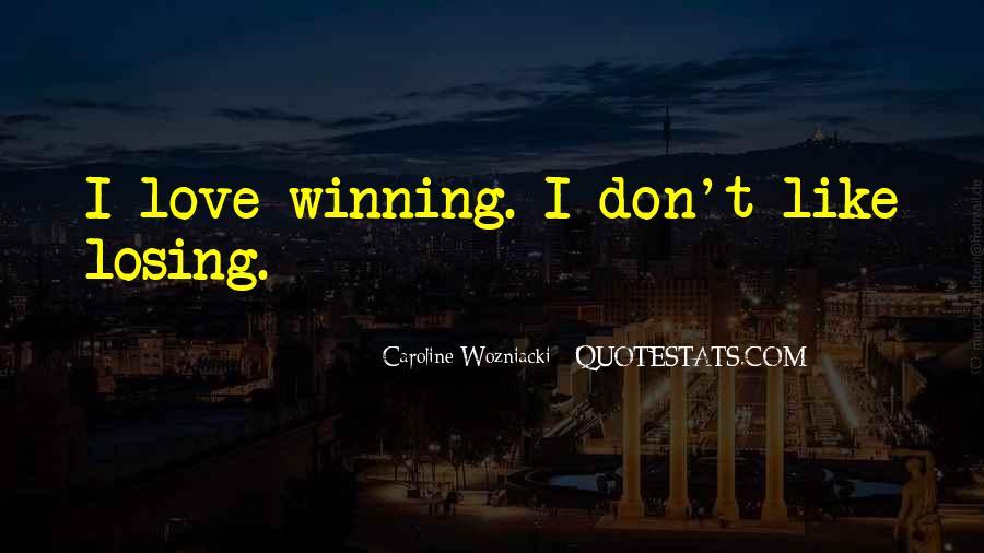 Wozniacki Quotes #365520