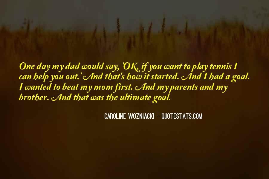 Wozniacki Quotes #635804