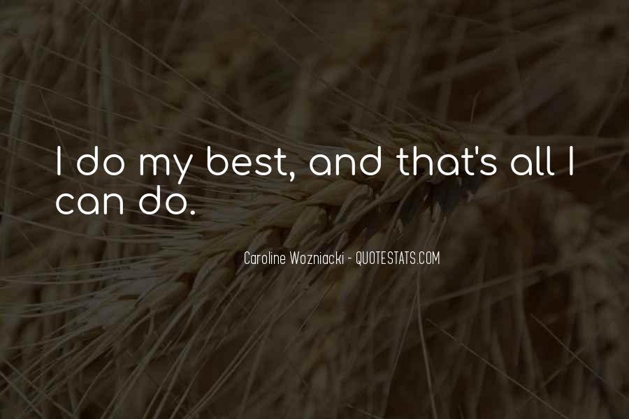 Wozniacki Quotes #775869