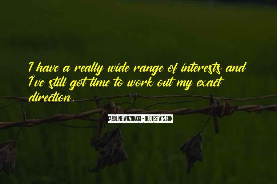 Wozniacki Quotes #91366