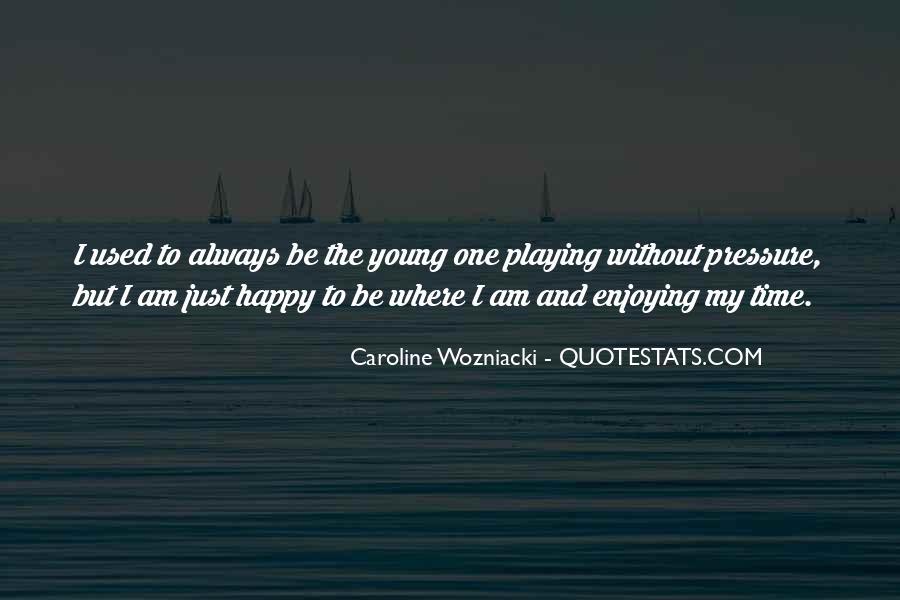 Wozniacki Quotes #961015