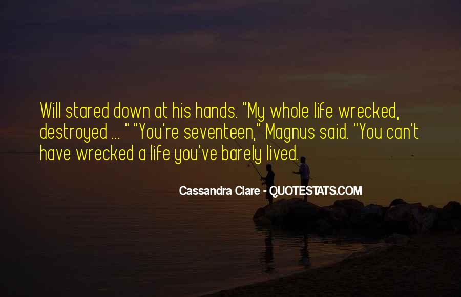 Wrecked Quotes #1003903