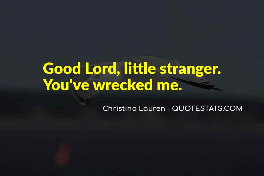 Wrecked Quotes #491953