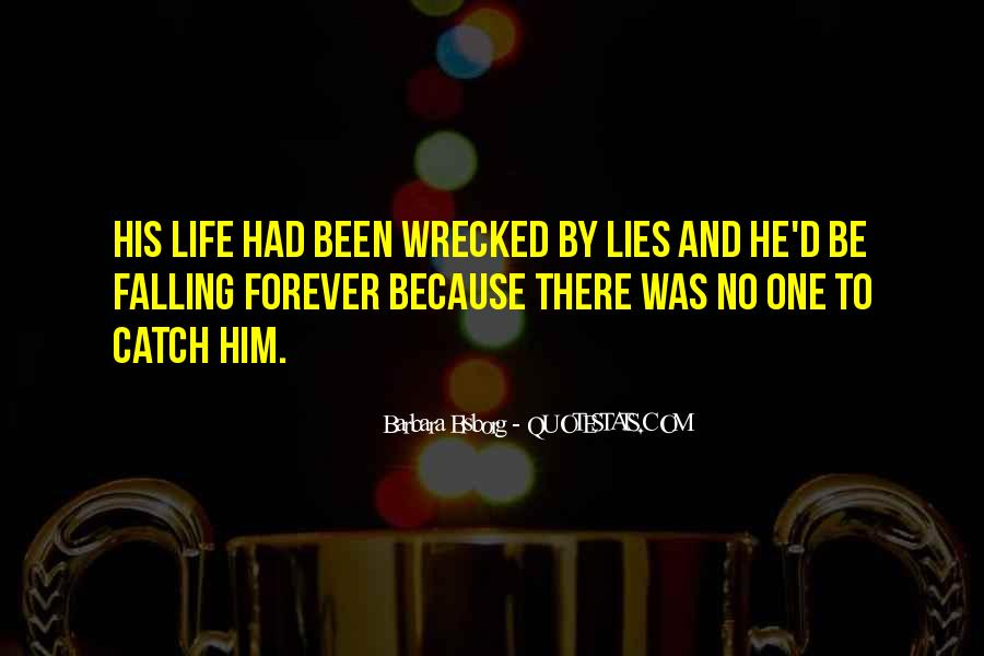 Wrecked Quotes #959921