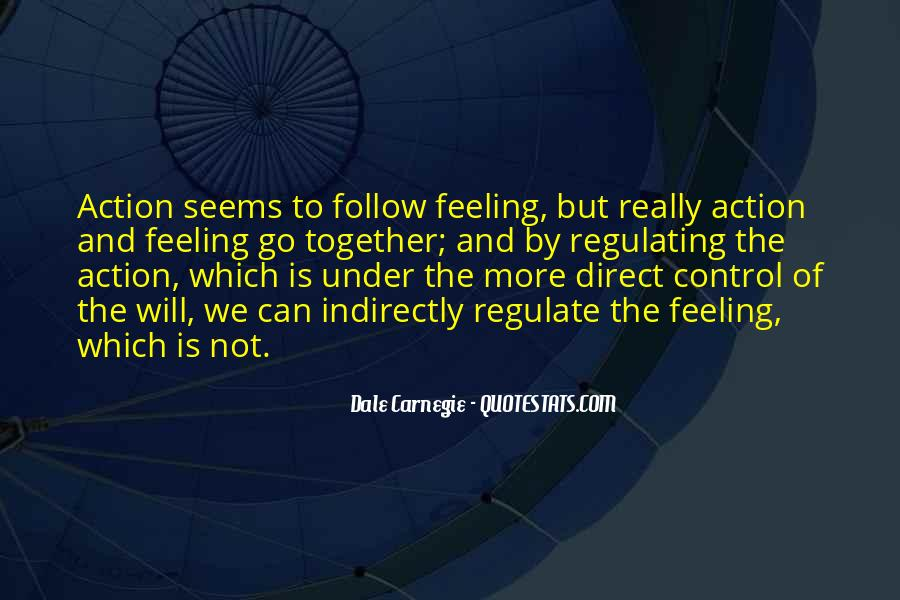 Quotes About Feeling Out Of Control #167400