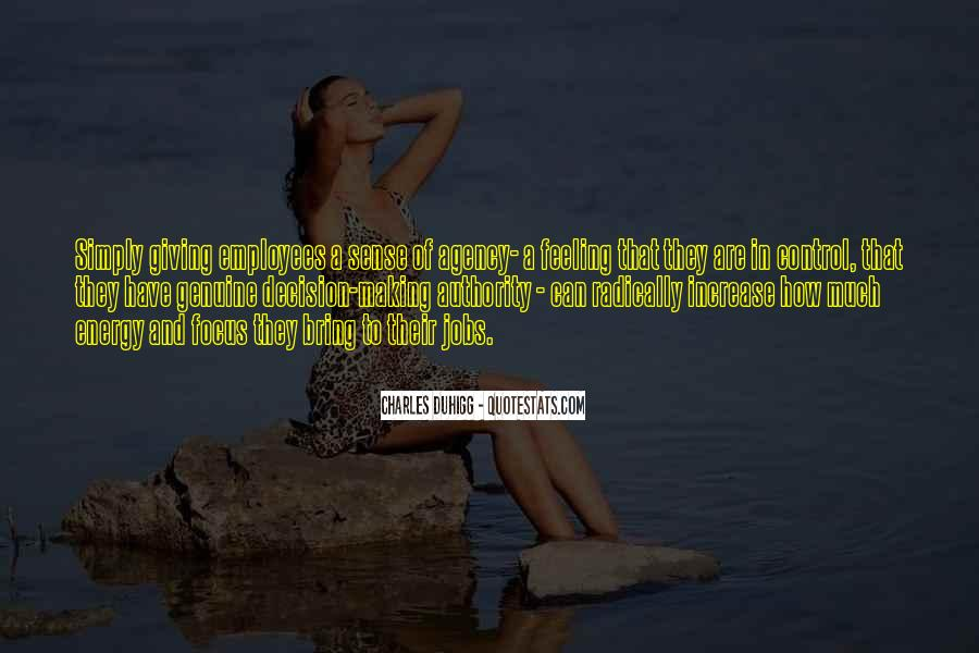 Quotes About Feeling Out Of Control #221342