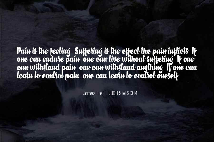 Quotes About Feeling Out Of Control #303751