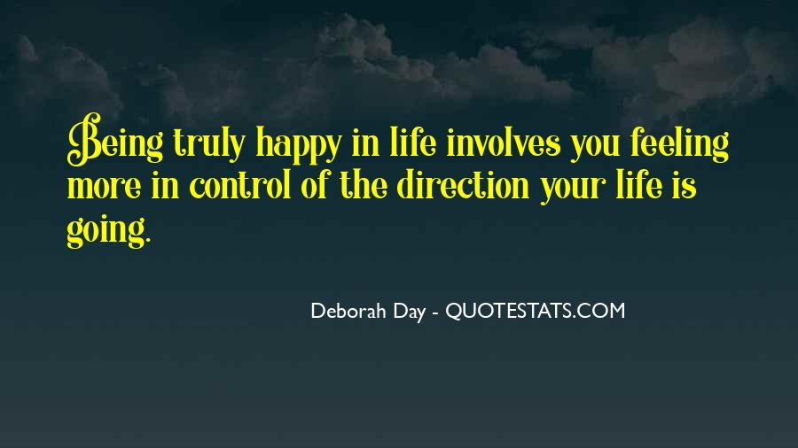 Quotes About Feeling Out Of Control #467116
