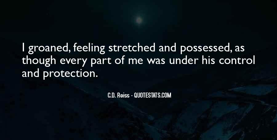 Quotes About Feeling Out Of Control #666055