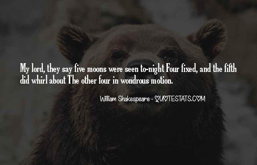 Quotes About Moons #310208
