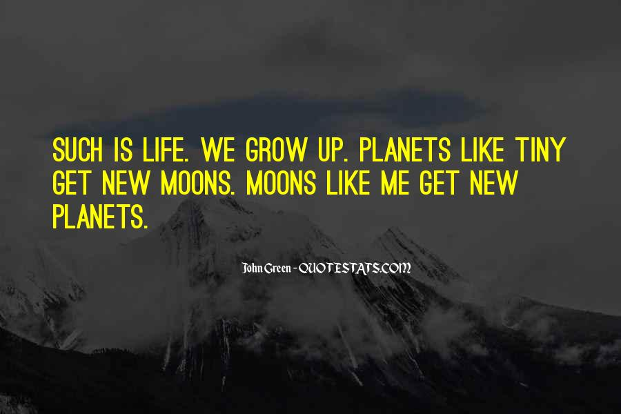 Quotes About Moons #409395