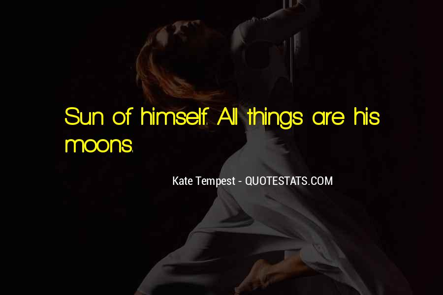 Quotes About Moons #841895