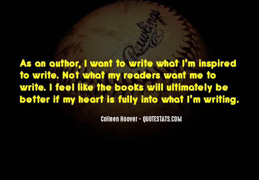 Write To Me Quotes #14673