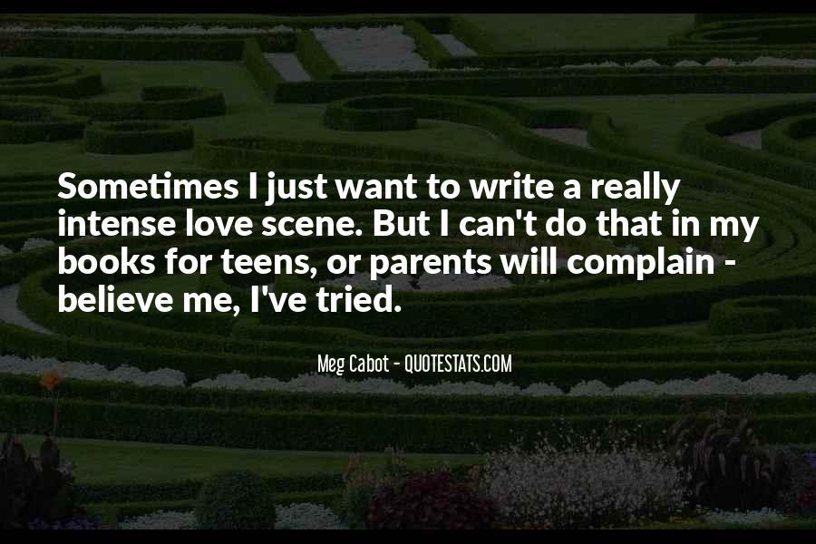 Write To Me Quotes #14720