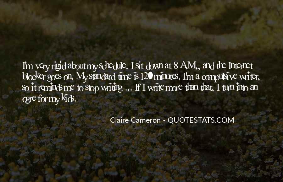 Write To Me Quotes #18170
