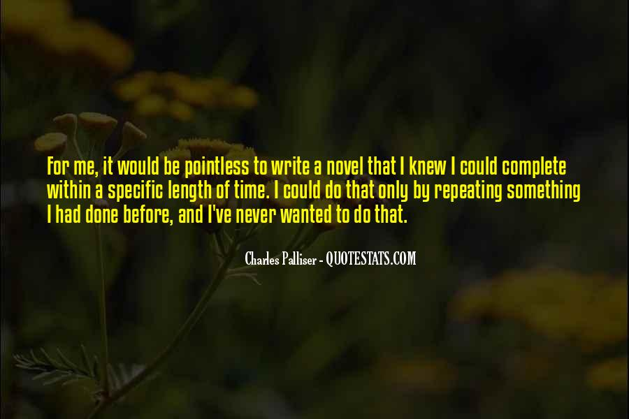 Write To Me Quotes #18177