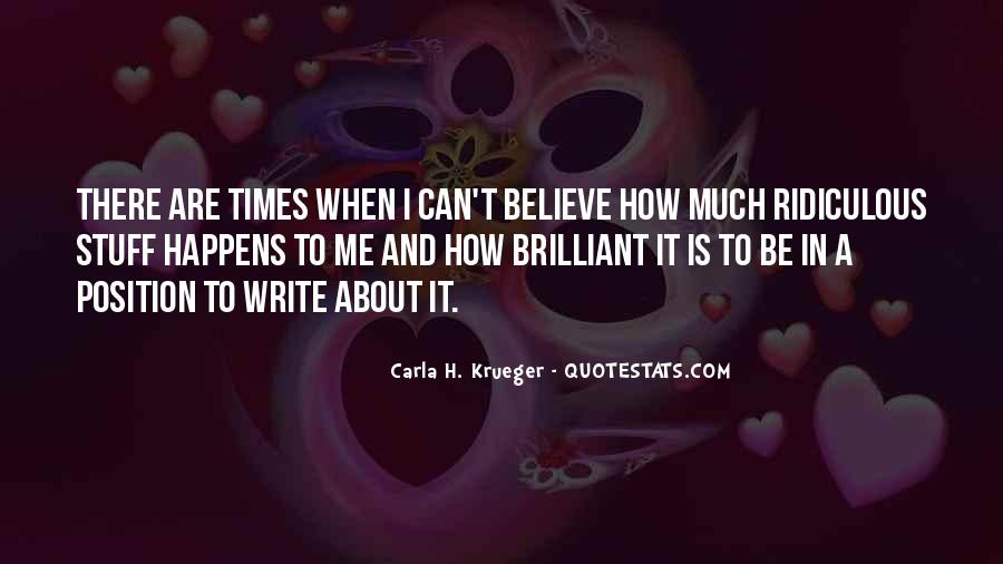 Write To Me Quotes #21668