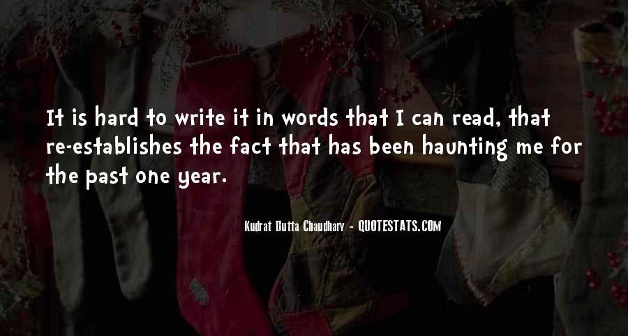 Write To Me Quotes #22492