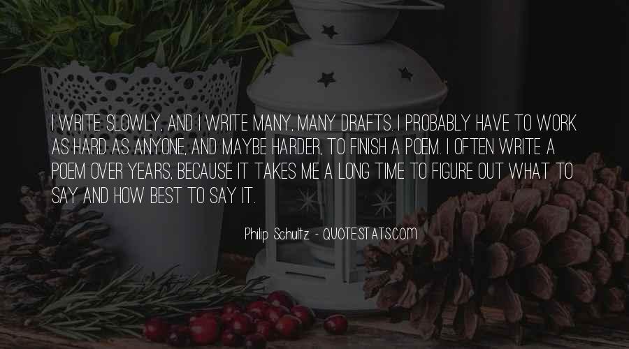 Write To Me Quotes #23454