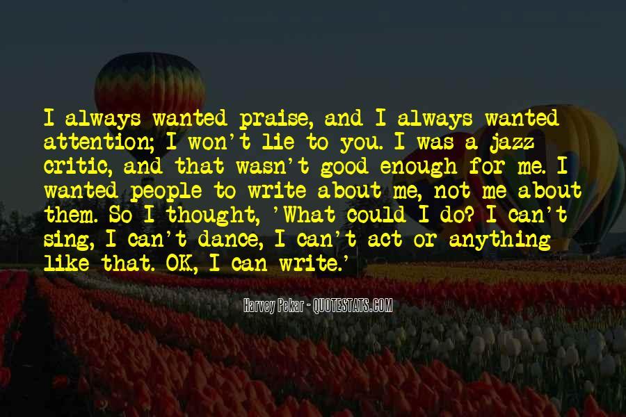 Write To Me Quotes #24827