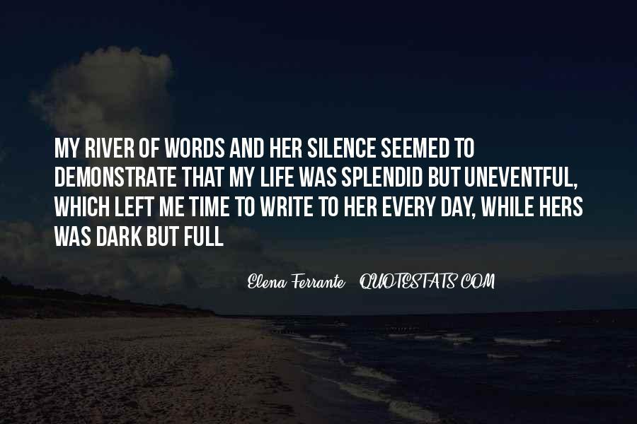 Write To Me Quotes #25754