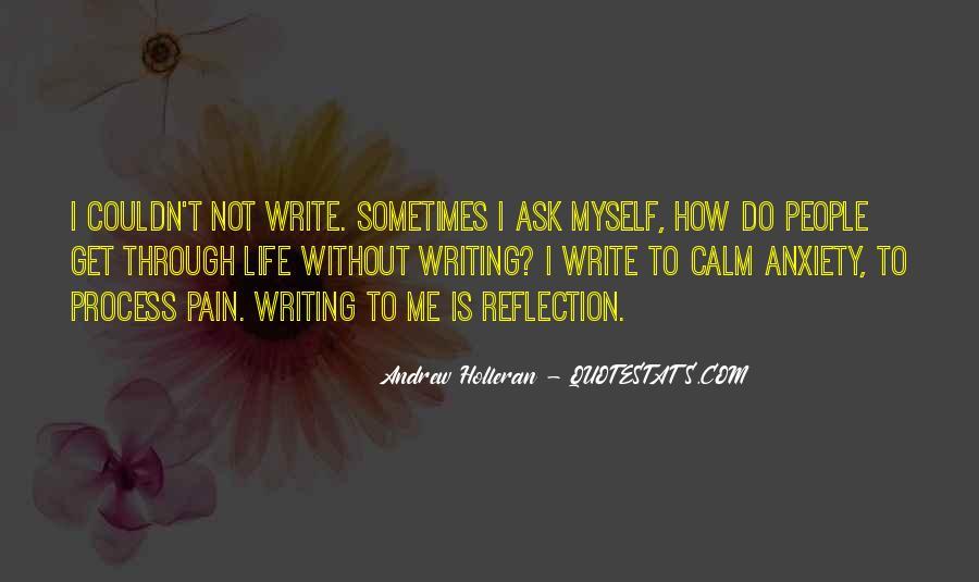 Write To Me Quotes #26479
