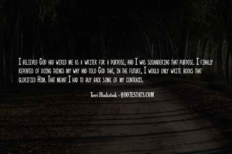 Write To Me Quotes #26812