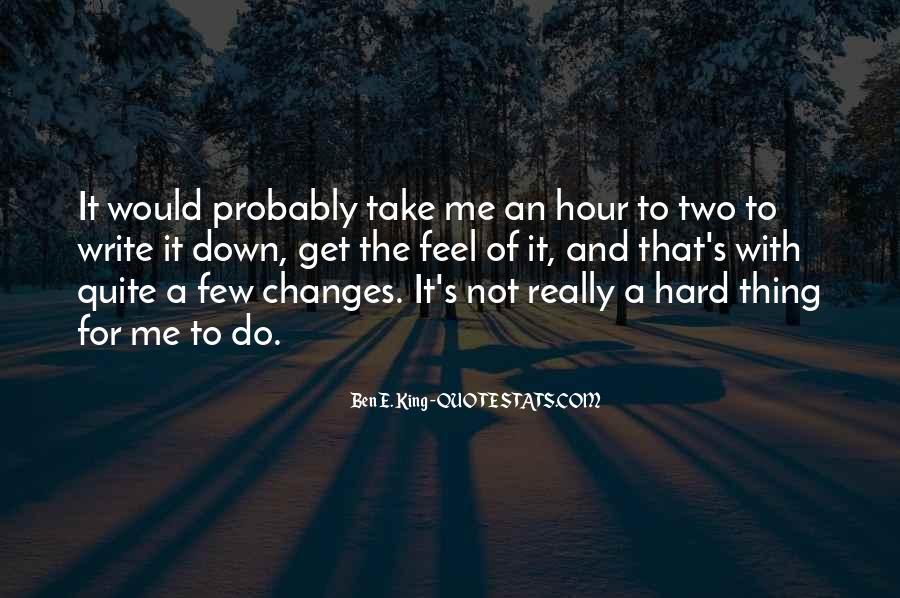 Write To Me Quotes #32688