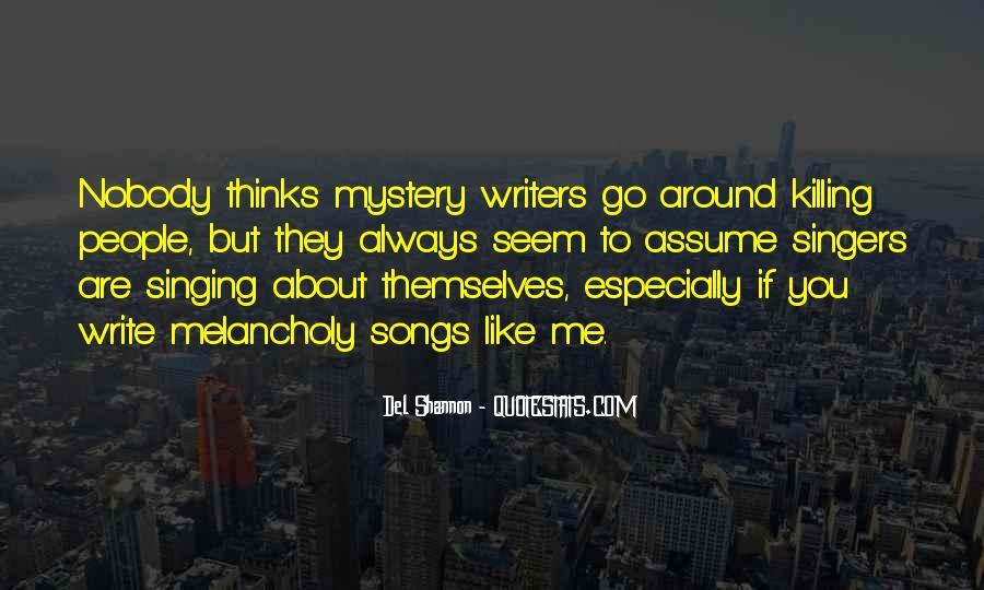 Write To Me Quotes #4607