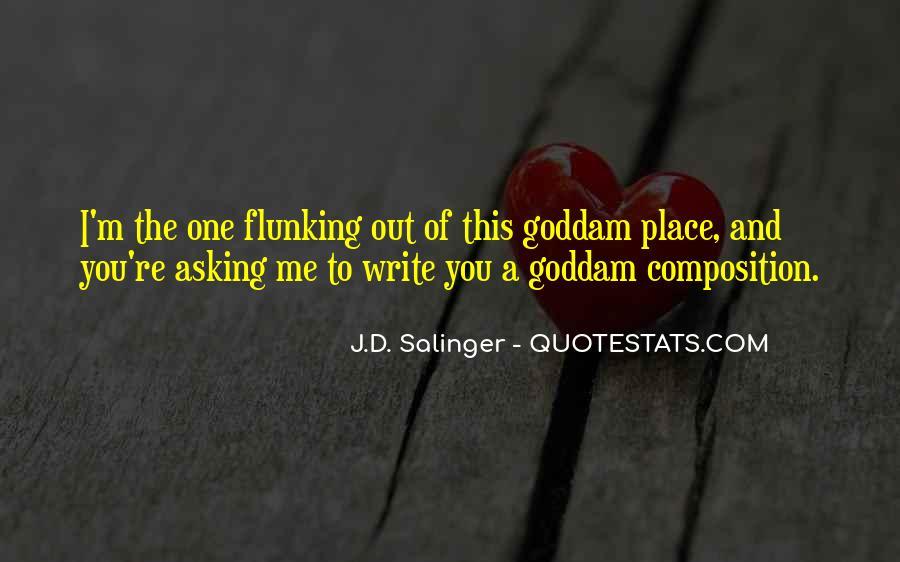 Write To Me Quotes #46121