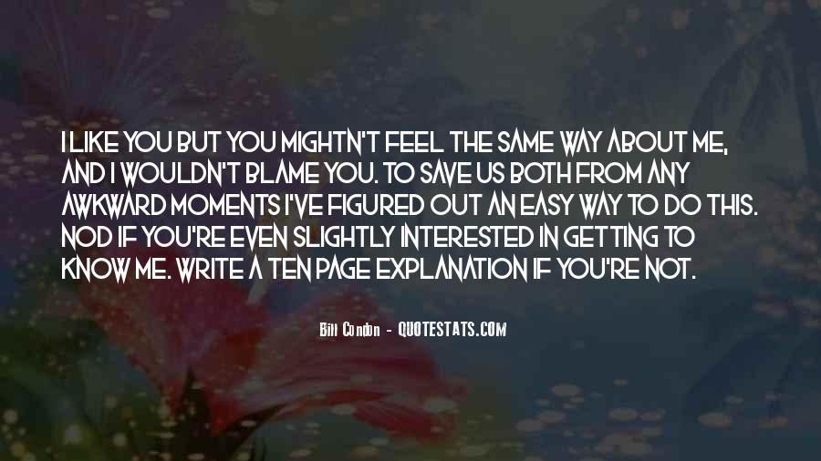 Write To Me Quotes #51308
