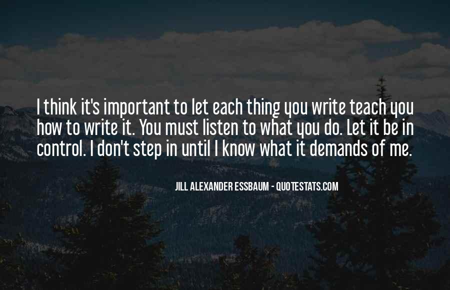 Write To Me Quotes #58358