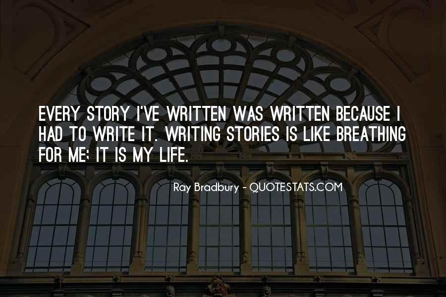 Write To Me Quotes #61508
