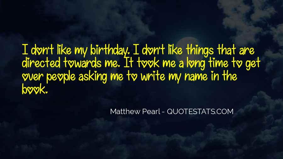 Write To Me Quotes #61939