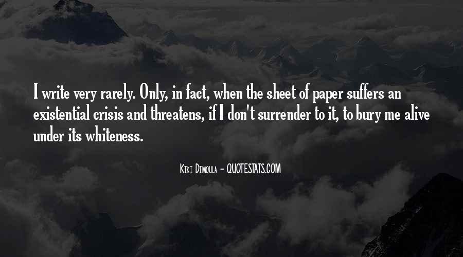 Write To Me Quotes #76348