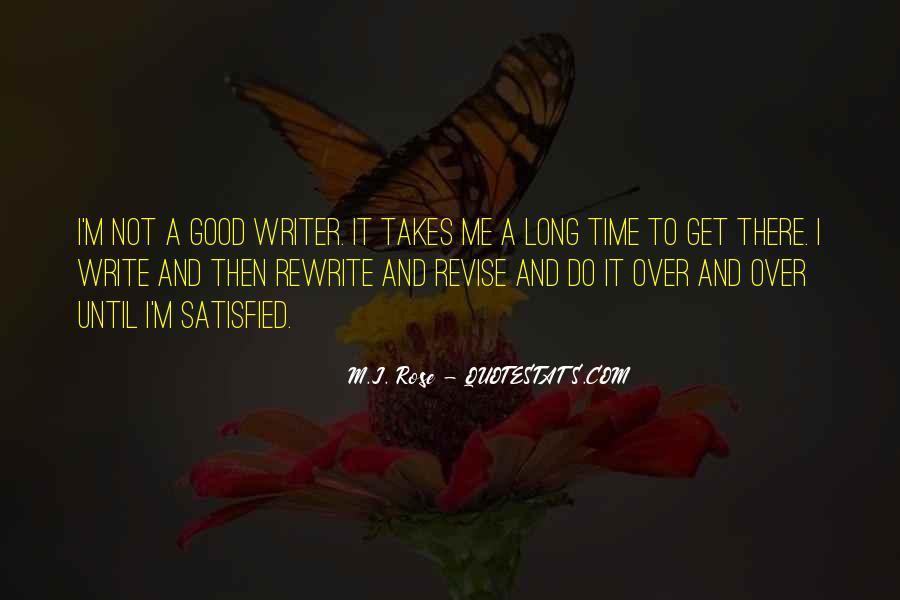 Write To Me Quotes #7719
