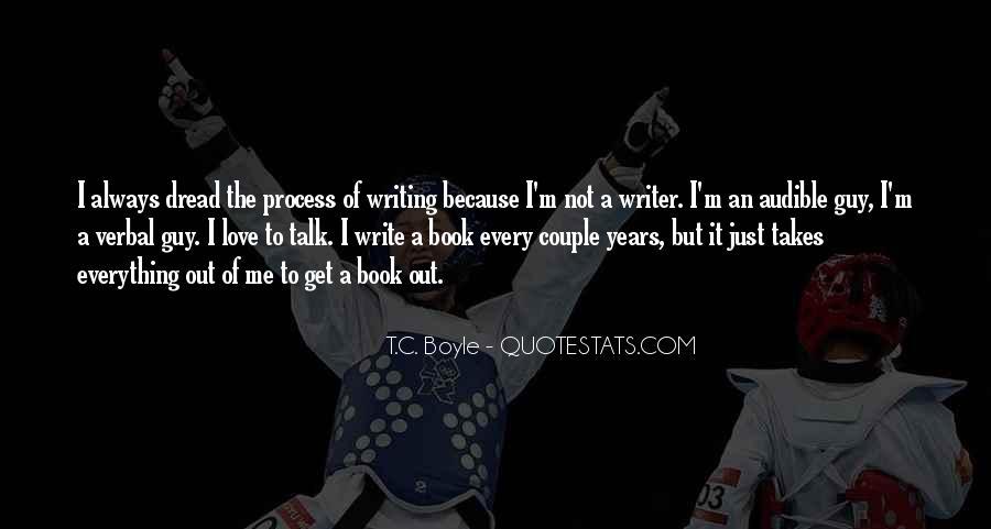 Write To Me Quotes #77426