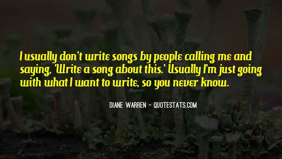 Write To Me Quotes #78521